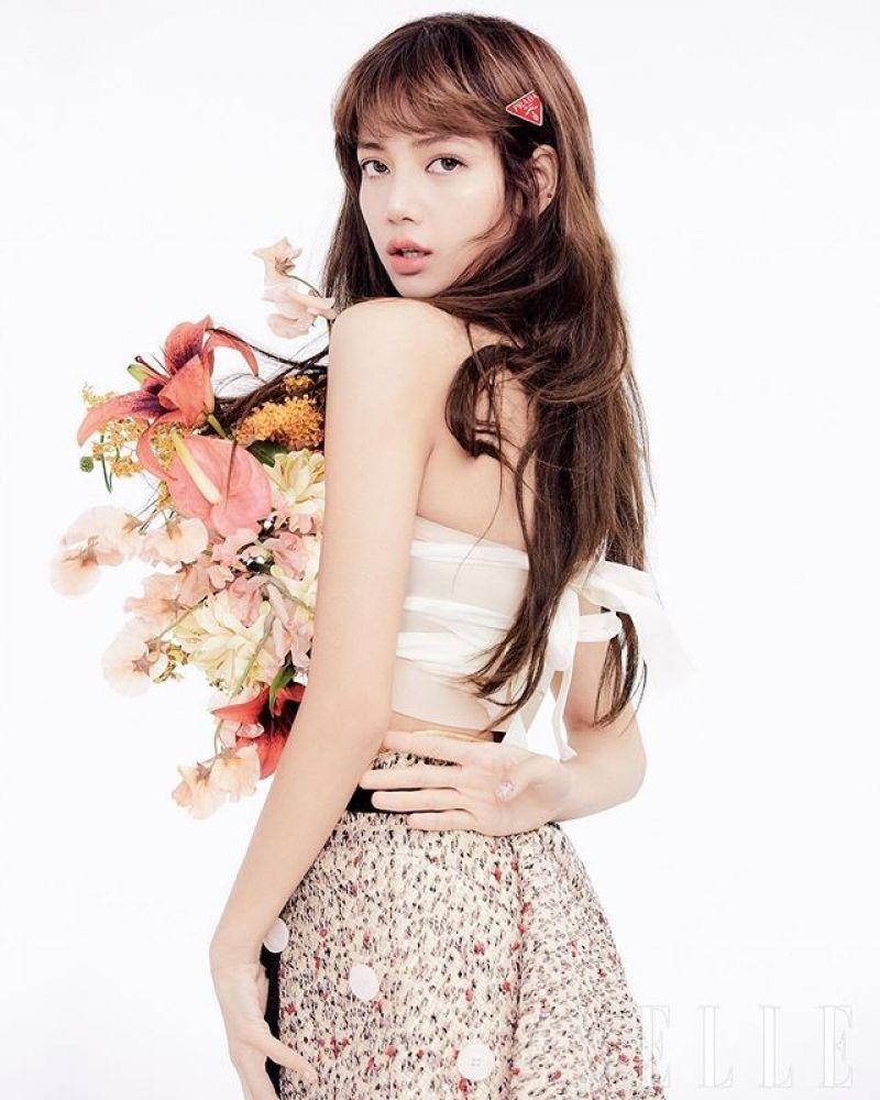 Lisa Elle Korea February 2020 Cover And Photos
