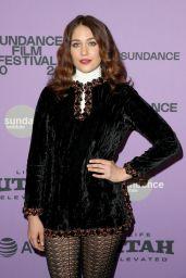 "Lola Kirke - ""Lost Girls"" Premiere at Sundance Film Festival"