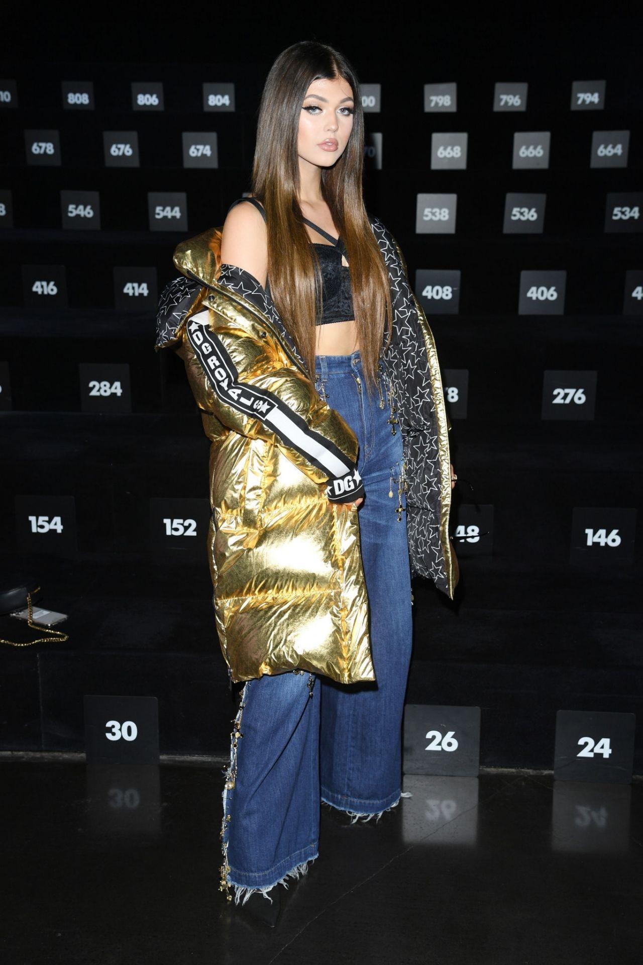 Loren Gray Dolce Amp Gabbana Men S Fashion Week In Milan