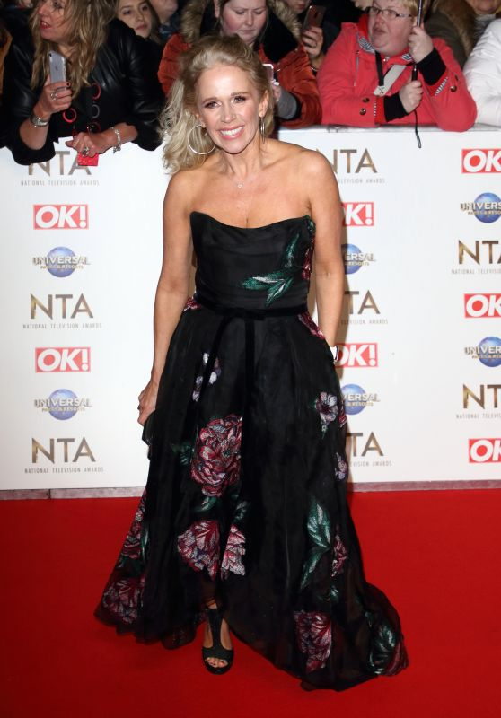 Lucy Benjamin – National Television Awards 2020 in London