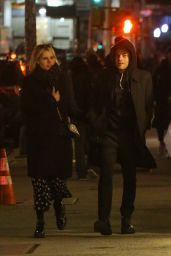 Lucy Boynton and Rami Malek - Out in New York City 01/22/2020