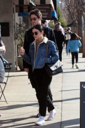 Lucy Hale - Alfred Coffee in Studio City 01/11/2020