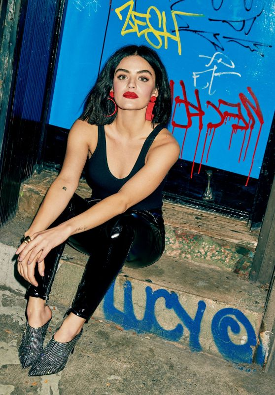 Lucy Hale - Photoshoot for Cosmopolitan February 2020