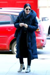 Lucy Hale Winter Style - NYC 01/20/2020