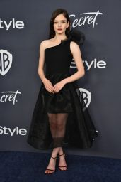 Mackenzie Foy – 2020 Warner Bros. and InStyle Golden Globe After Party