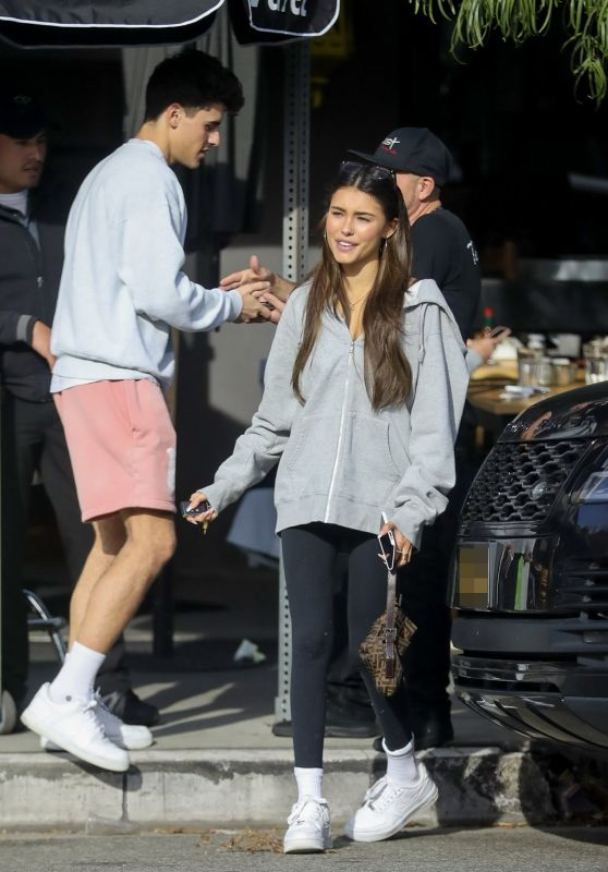 Madison Beer and Jack Gilinsky at Toast Cafe in West Hollywood 01/02/2020