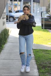 Madison Beer - Outside of Cha Cha Matcha in West Hollywood 01/14/2020