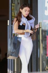 Madison Beer - Shopping in Beverly Hills 01/13/2020