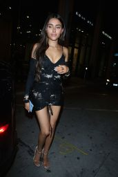 Madison Beer Shows Off Her Legs -  Catch LA in West Hollywood 01/30/2020