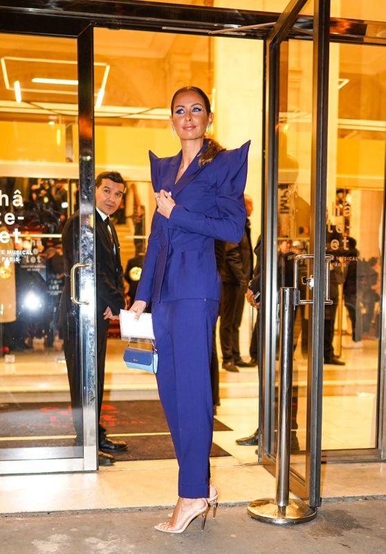 Malika Menard - Outside the Jean-Paul Gaultier Show in Paris 01/22/2020