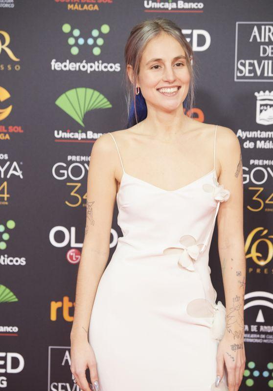 Maria Escarmiento – Goya Cinema Awards 2020 in Madrid