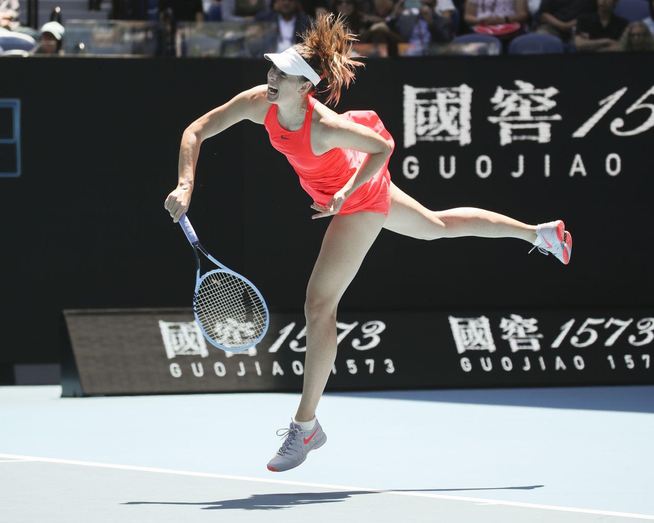 maria sharapova  u2013 2020 australian open 01  21  2020
