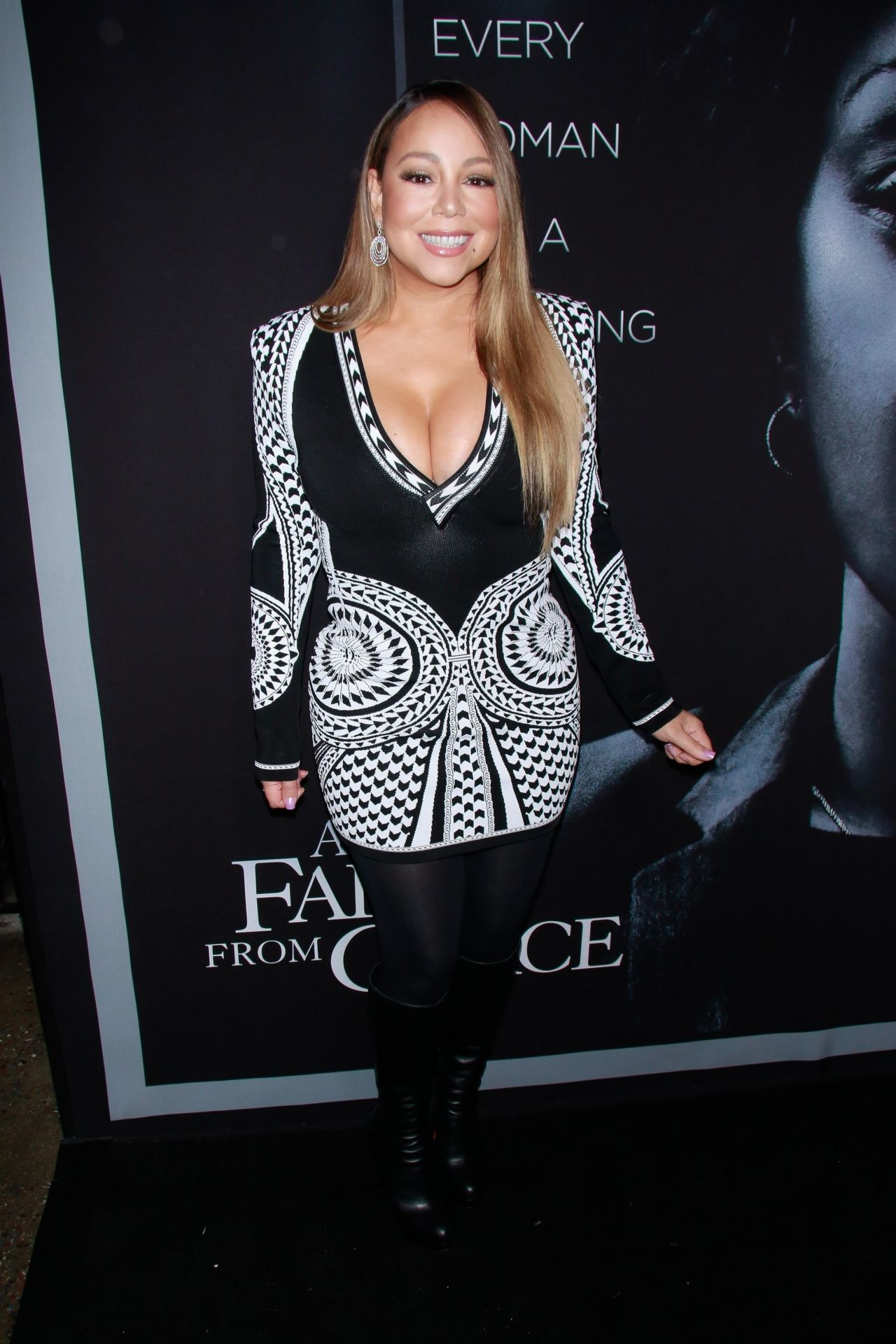 Mariah Carey Quot A Fall From Grace Quot Premiere In New York City