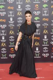 Maribel Verdu – Goya Cinema Awards 2020 Red Carpet in Madrid 01/25/2020
