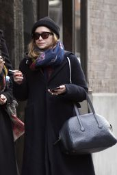 Mary-Kate and Ashley Olsen - Outside Their Office Building in New York City 01/09/2020