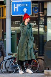 Maya Hawke - Leaving a Downtown Gym in NYC 01/22/2020