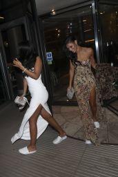 Maya Jama and Vick Hope - Leaving the NTA Afterparty 01/28/2020