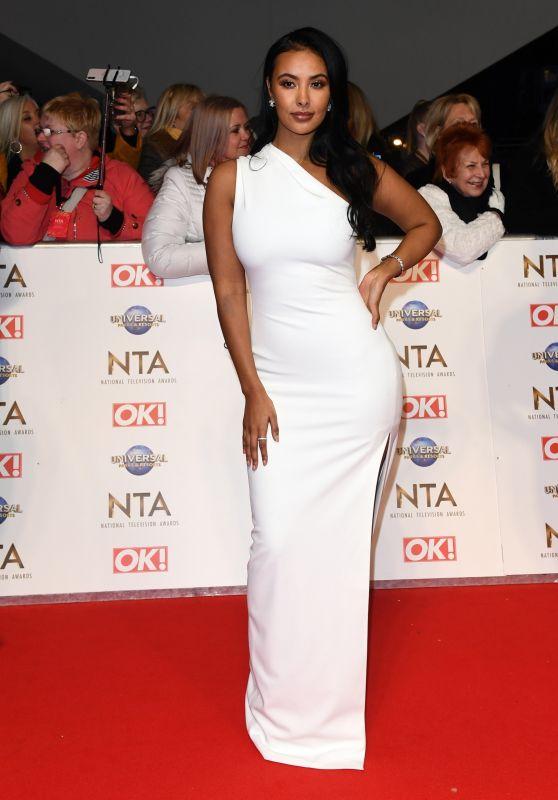 Maya Jama – National Television Awards 2020 in London