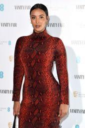 Maya Jama – Vanity Fair EE Rising Star BAFTAs Pre Party in London 01/22/2020