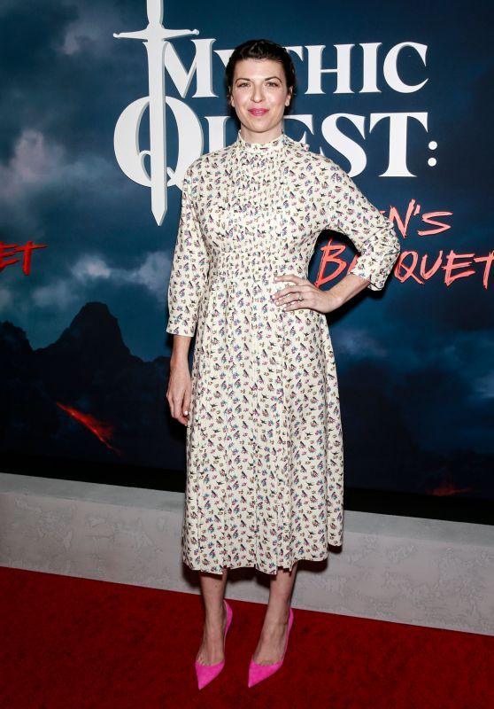 """Megan Ganz – """"Mythic Quest: Raven's Banquet"""" Premiere in LA"""