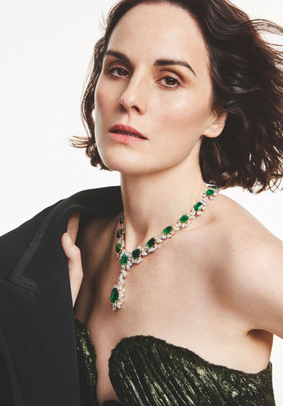 Michelle Dockery - Tatler Magazine UK February 2020 Issue