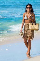 Michelle Keegan - Beach in Jamaica 01/29/2020