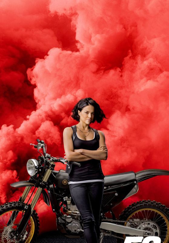 """Michelle Rodriguez – """"Fast & Furious 9"""" Promo Poster"""