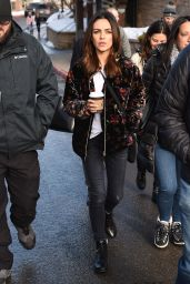 Mila Kunis - Out in Park City 01/25/2020