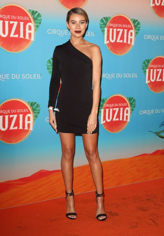 Montana Brown – Cirque Du Soleil LUZIA Premiere in London
