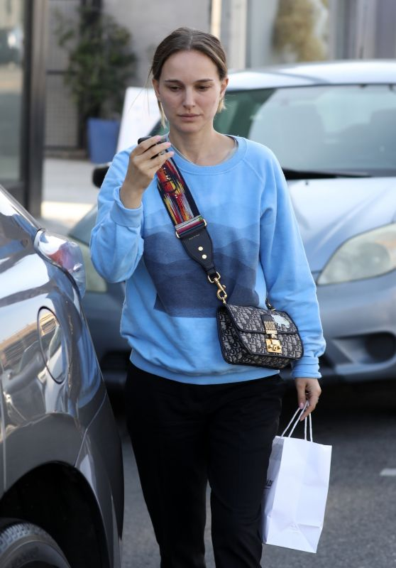 Natalie Portman - Crossroads Kitchen Restaurant in West Hollywood 01/14/2020