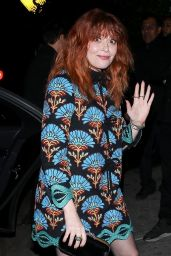 Natasha Lyonne - Leaving a Golden Globe Pre Party in Hollywood 01/04/2020