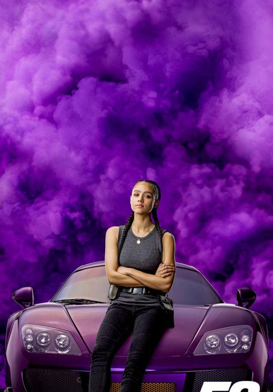 """Nathalie Emmanuel - """"Fast & Furious 9"""" Promo Poster"""