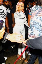 Nicki Minaj - Arrives to Mr. Jones in Miami 01/30/2020