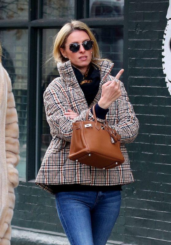 Nicky Hilton Street Style - New York 01/23/2020