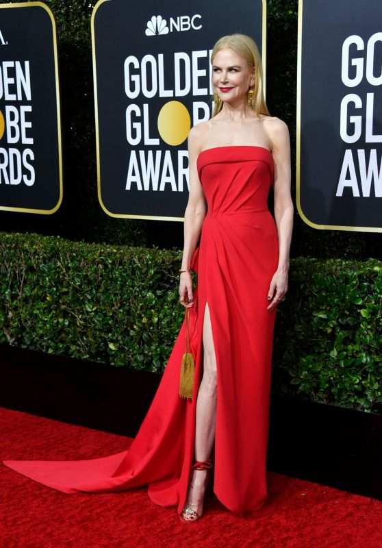 Nicole Kidman – 2020 Golden Globe Awards