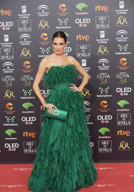 Nieves Alvarez – Goya Cinema Awards 2020 in Madrid