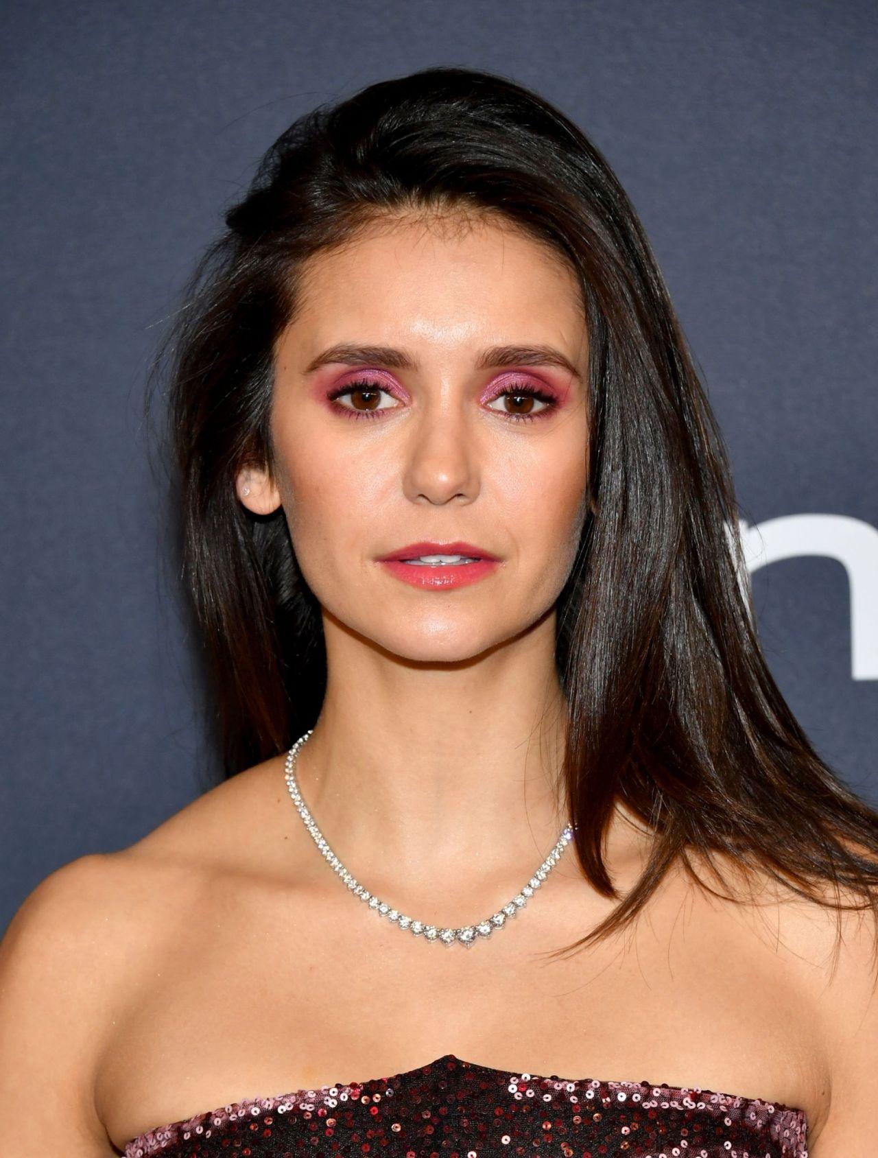 Nina Dobrev - 2020 Warner Bros. and InStyle Golden Globe