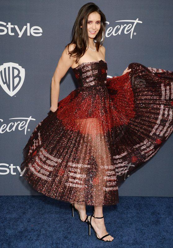 Nina Dobrev – 2020 Warner Bros. and InStyle Golden Globe After Party