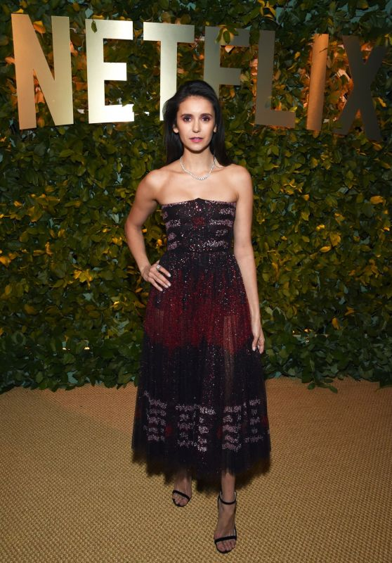 Nina Dobrev – Netflix 2020 Golden Globes After Party