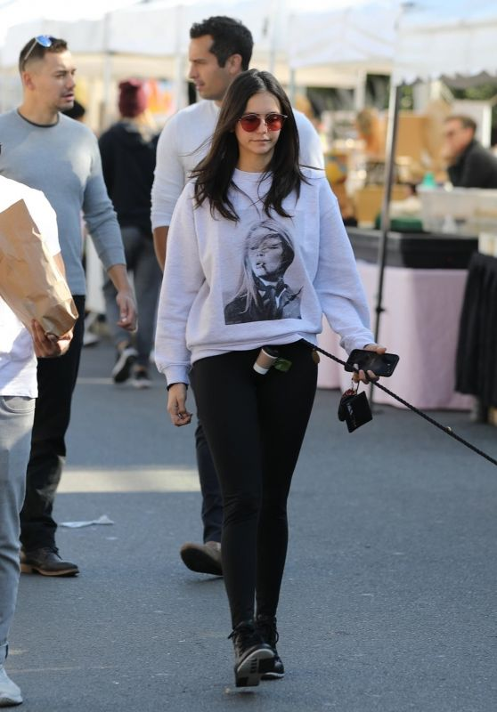 Nina Dobrev - Out in West Hollywood 01/12/2020