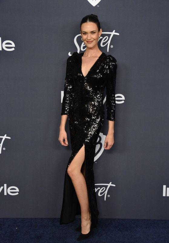 Odette Annable – Warner Bros. and InStyle 2020 Golden Globe After Party