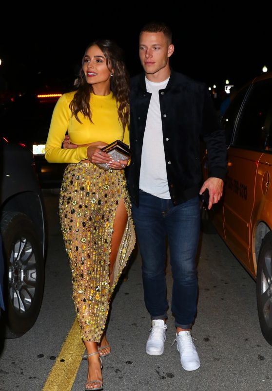 Olivia Culpo Night Out Style 01/30/2020