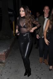 Olivia Culpo Night Out Style - Delilah in West Hollywood 01/11/2020