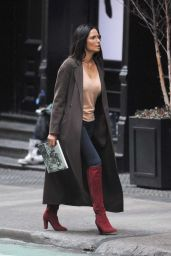 Padma Lakshmi in Casual Outfit in NYC 01/29/2020