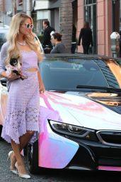 Paris Hilton Street Fashion - Anastasia Beverly Hills Salon 01/22/2020