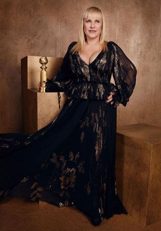 Patricia Arquette - Golden Globes 2020 Official Portrait