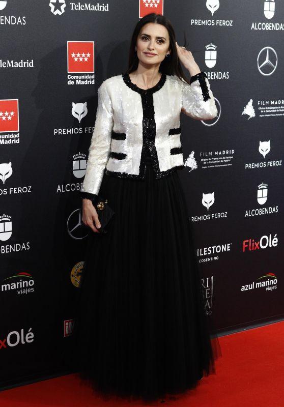 Penelope Cruz - Feroz Awards 2020 in Alcobendas