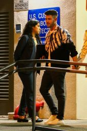 Priyanka Chopra and Sophie Turner with Nick and Joe Jonas - Arrive in Miami for New Year