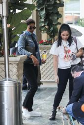 Priyanka Chopra - Arrives at the Peninsula in Beverly Hills 01/13/2020