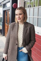 Rachel Brosnahan Casual Style - Out in Park City 01/23/2020